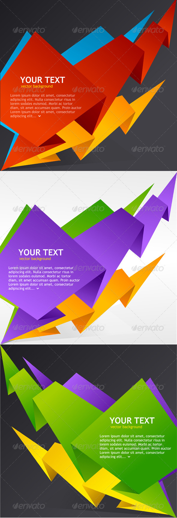GraphicRiver Speech Templates Set 6826586