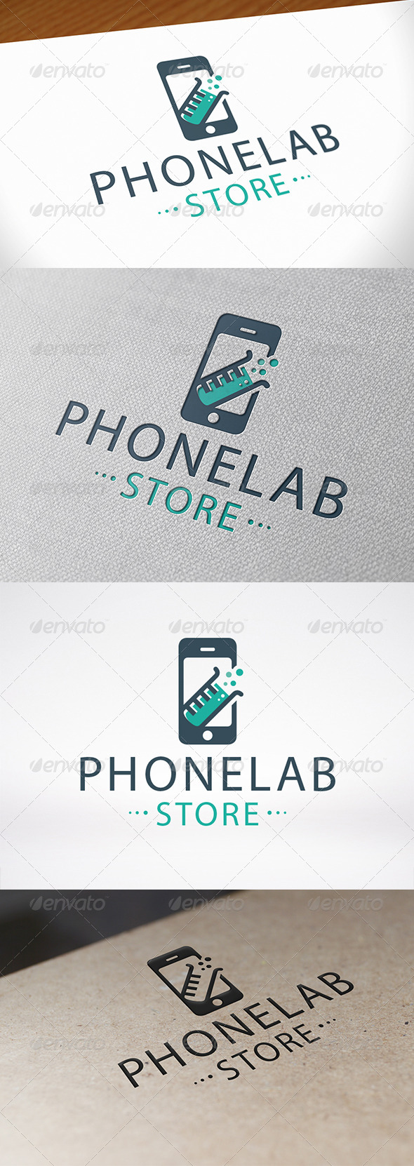 GraphicRiver Phone Lab Logo 6826805