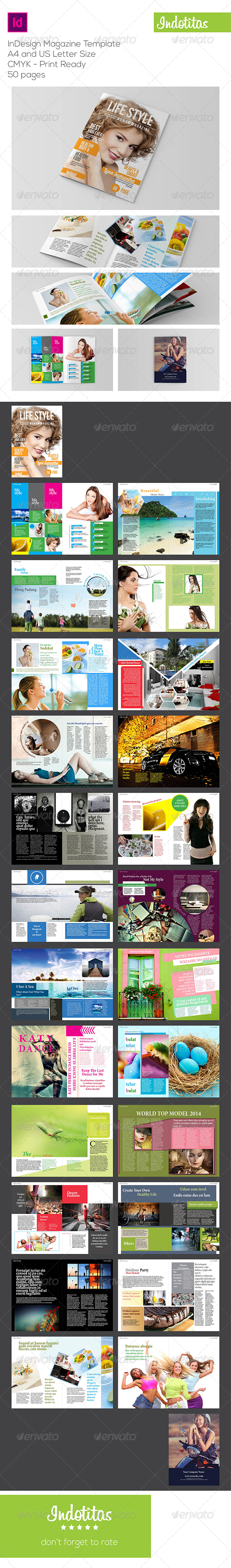 GraphicRiver InDesign Magazine Template 6827588