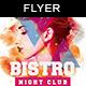 Bistro Night Club 设计感十-Graphicriver中文最全的素材分享平台