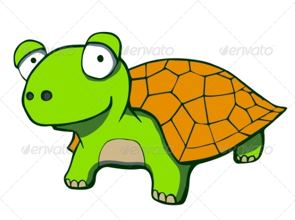 GraphicRiver Cartoon Turtle 6827980