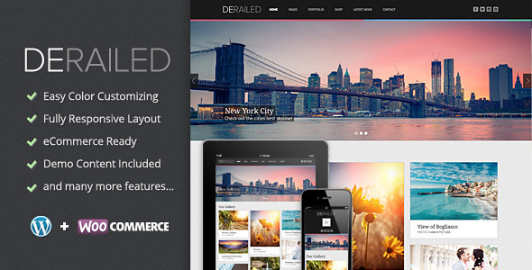 DeRailed - Photography & Portfolio Theme - Photography Creative