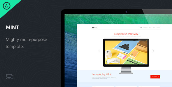 Mint - Mighty Multi-Purpose Template - Corporate Site Templates