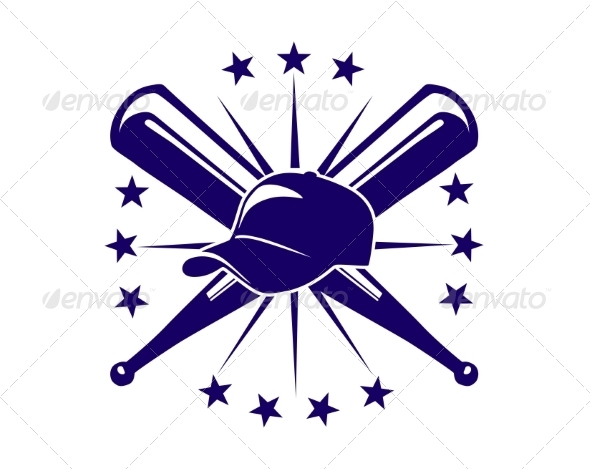GraphicRiver Baseball Icon or Emblem 6830564
