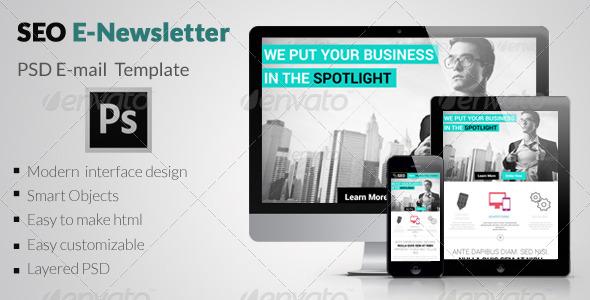 GraphicRiver SEO E-Newsletter 6832897