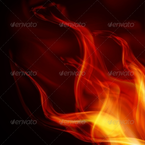 GraphicRiver Abstract Fire Flames 6833174