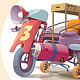 Strange Vehicle - GraphicRiver Item for Sale