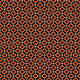 Orange and Beige Rhombuses on Black Background - PhotoDune Item for Sale