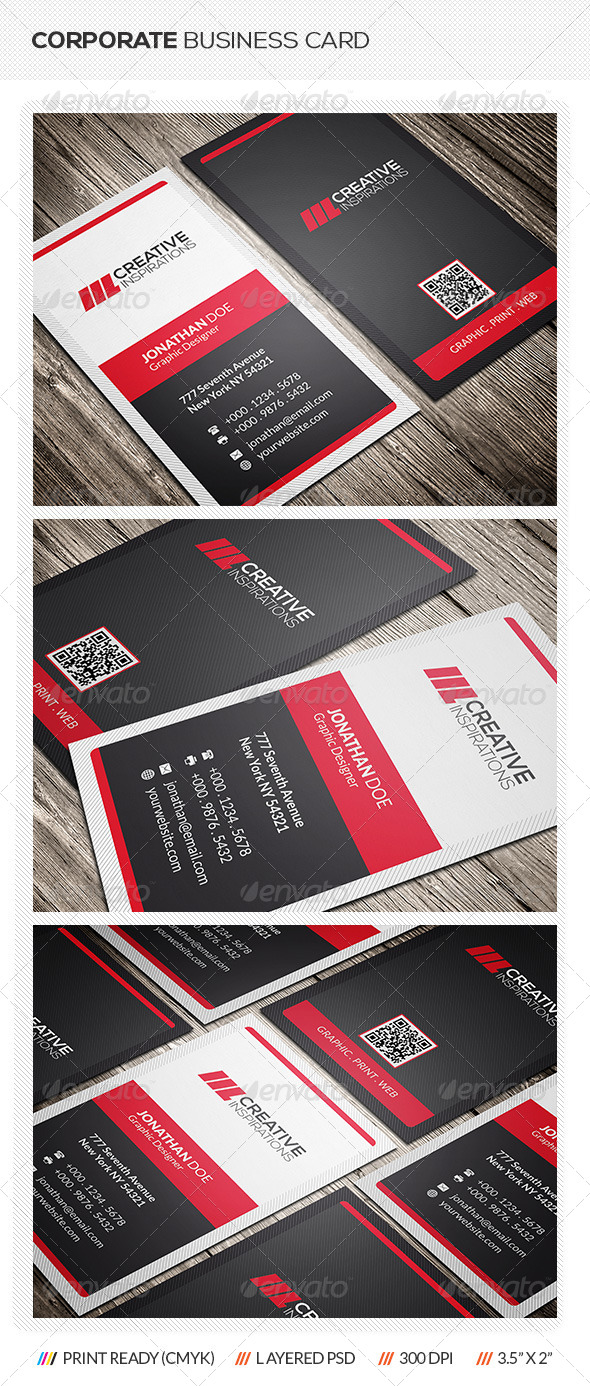 GraphicRiver Modern Business Card 6834554