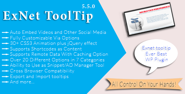 CodeCanyon ExNet Tooltip Plugin 6815836