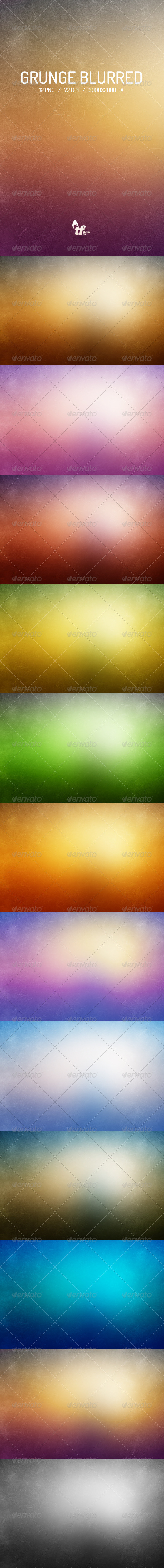 GraphicRiver Grunge Blurred Backgrounds 6835195