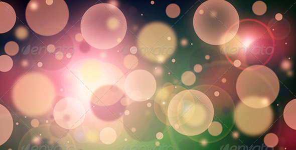 GraphicRiver Bokeh Lights Background 6836160