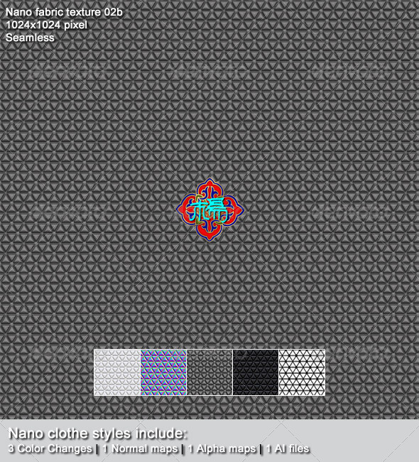 3DOcean Nano fabric texture 02b 6836464