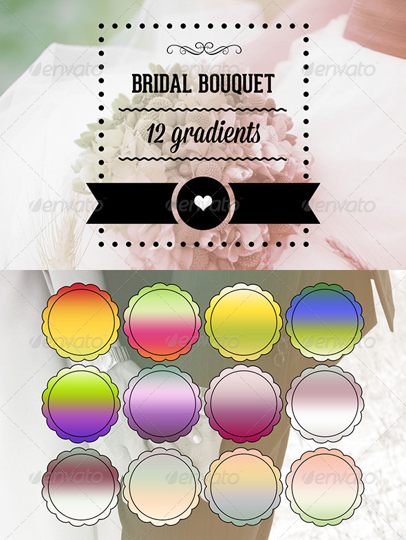 GraphicRiver Bridal Bouquet 6837992
