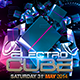Electro House Party Flyer Template - GraphicRiver Item for Sale