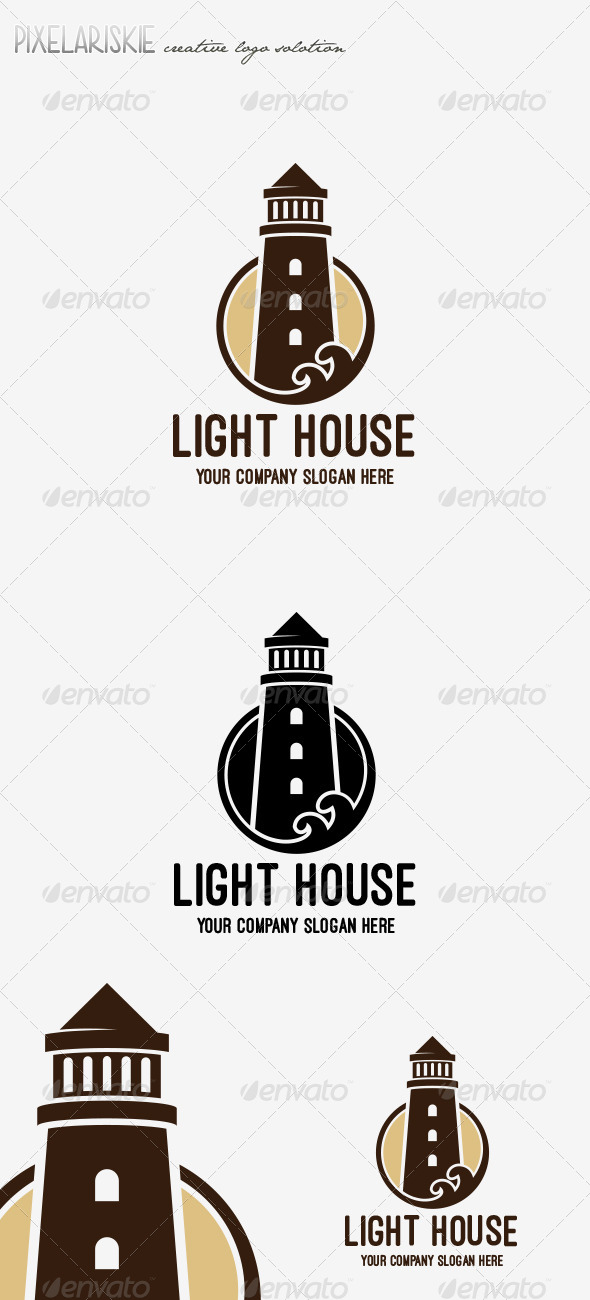 GraphicRiver Light House Logo 6819995