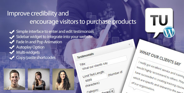 Testimonials Ultimate - CodeCanyon Item for Sale