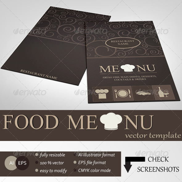 GraphicRiver Food Menu 6827439