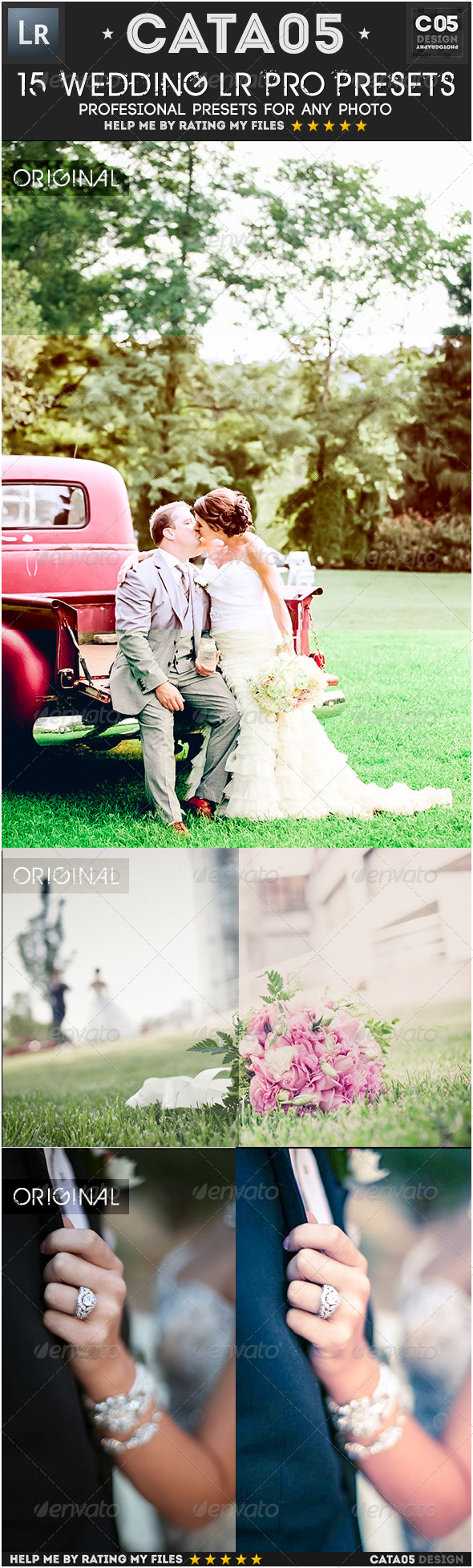 GraphicRiver 15 Wedding Pro Presets 6842092