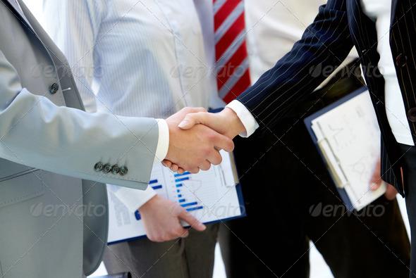 PhotoDune Handshaking 714864