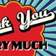 Retro Thank You Cards v1 - GraphicRiver Item for Sale