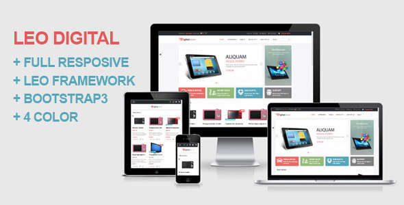 Leo Digital Prestashop Theme - Technology PrestaShop