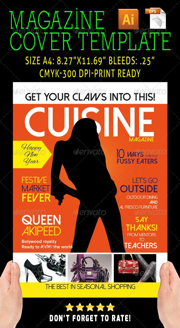 GraphicRiver Magazine Cover Style 08 6570683