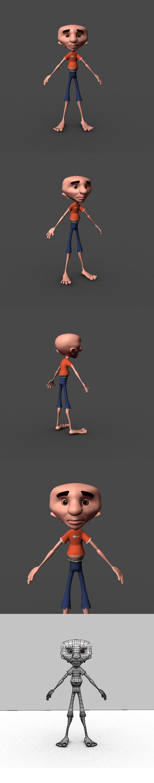 3DOcean Cartoon Character 6848868