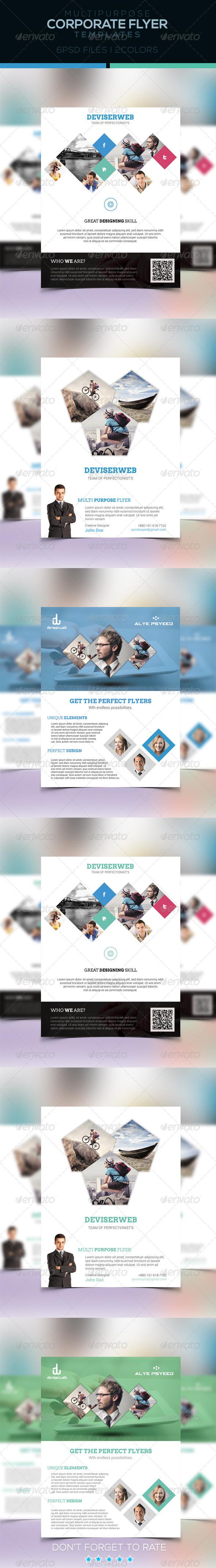 GraphicRiver Corporate Flyer Template-Multipurpose 6848891