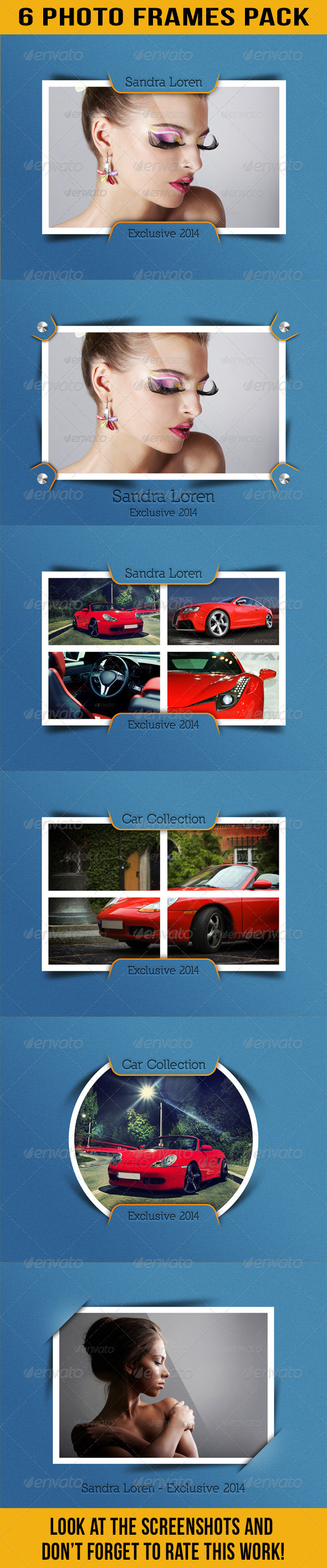 GraphicRiver Photo Frames Pack 11 6850097