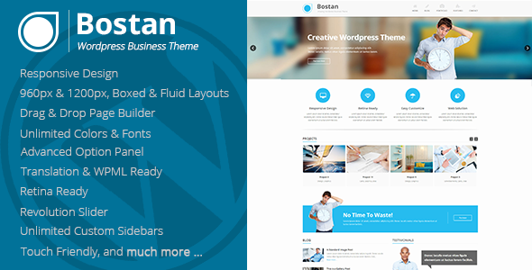 Bostan - Retina Responsive Multi-Purpose Theme - Business Corporate