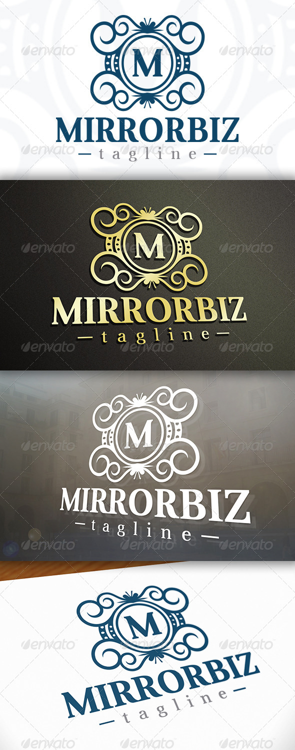 GraphicRiver Mirror Logo 6851900