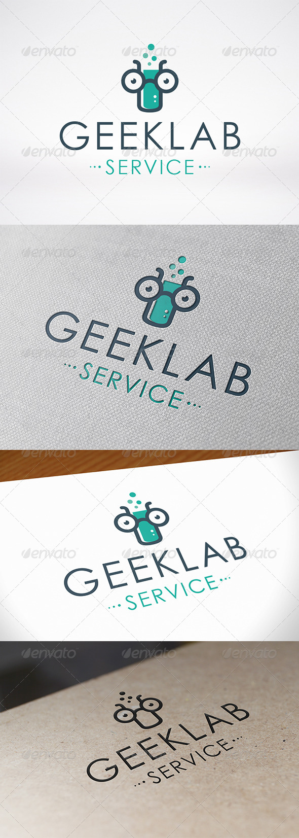 GraphicRiver Geek Lab Logo Template 6851927
