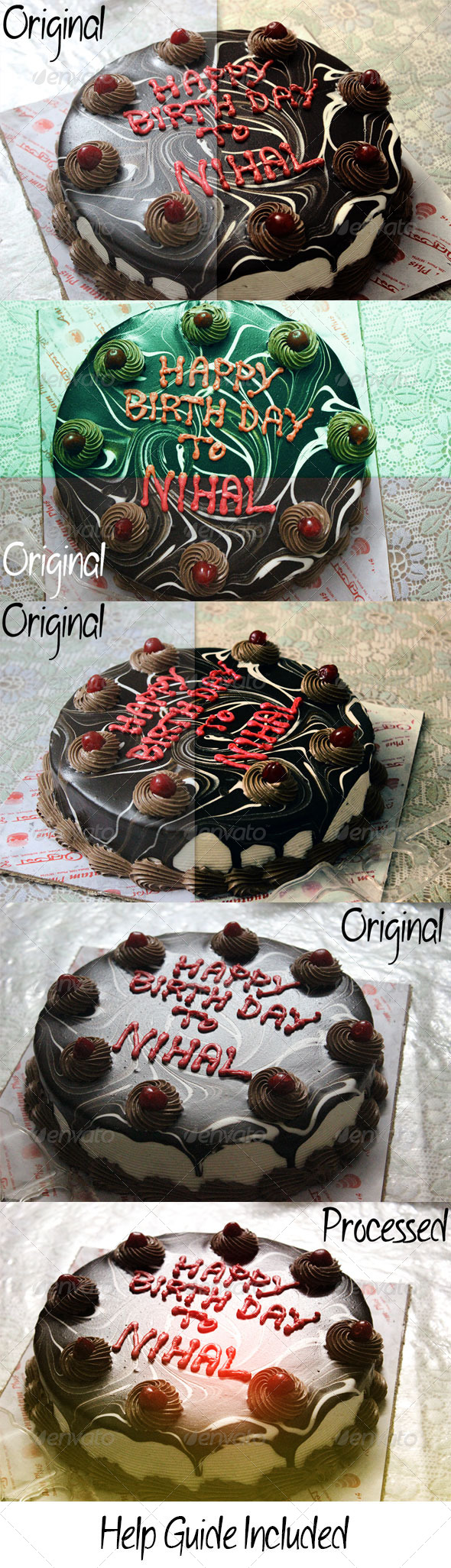 GraphicRiver Cake Ps Effects 6852279
