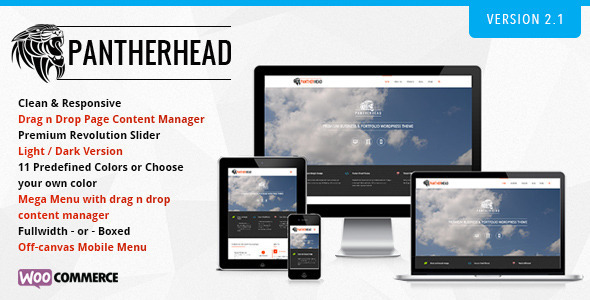 PantherHead - Premium Business & Portfolio Theme - Business Corporate