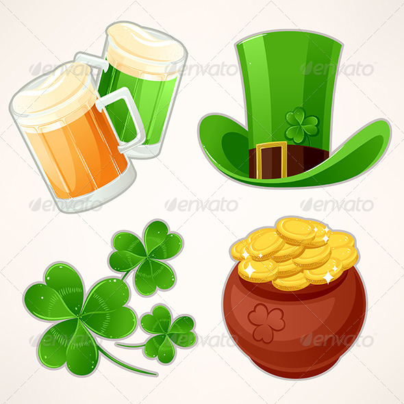 GraphicRiver Icons to St Patrick s Day 6852899