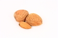 Whole and Shelled Almonds Isolated - PhotoDune Item for Sale