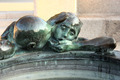 Detail of Sculpture Well of Life in front of Croatian National Theater in Zagreb - PhotoDune Item for Sale
