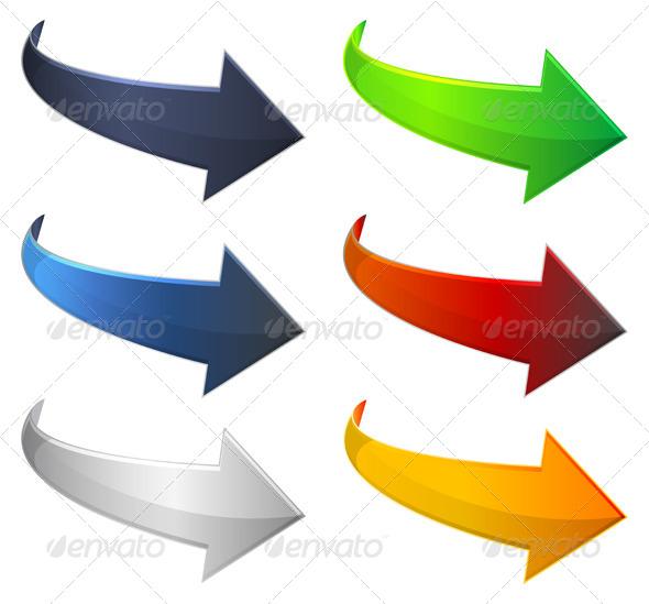 GraphicRiver Arrow Icons 6853435