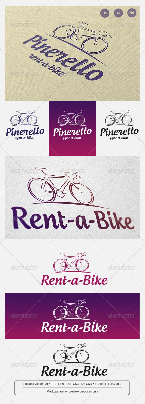 GraphicRiver Pinerello Rent a Bike 6854100