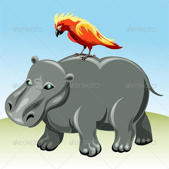 GraphicRiver The Hippopotamus 6854196