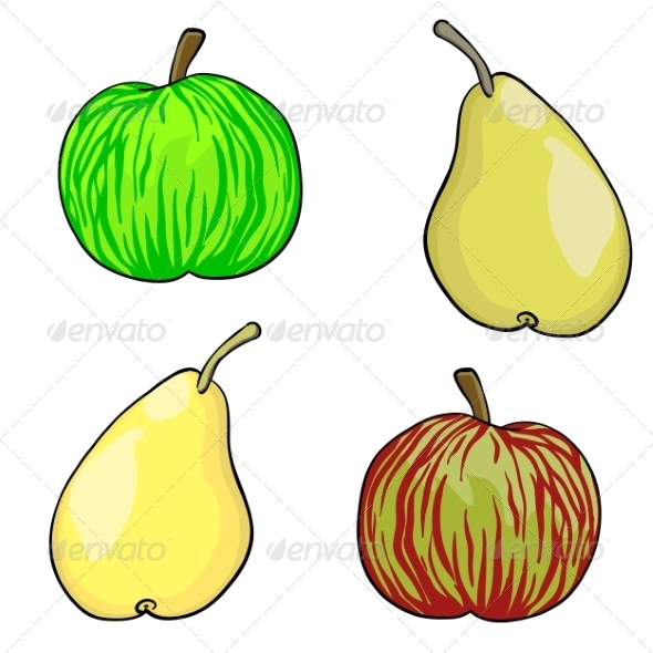 GraphicRiver Vector Fruit 6855228