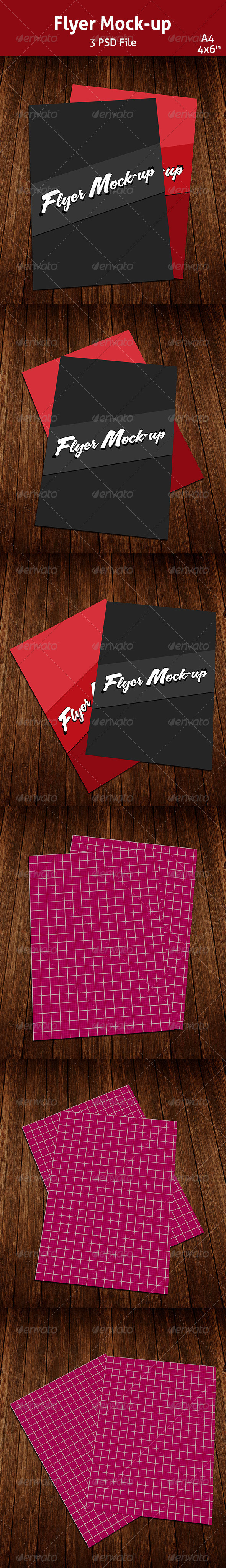 GraphicRiver Flyer Mockup 6855442