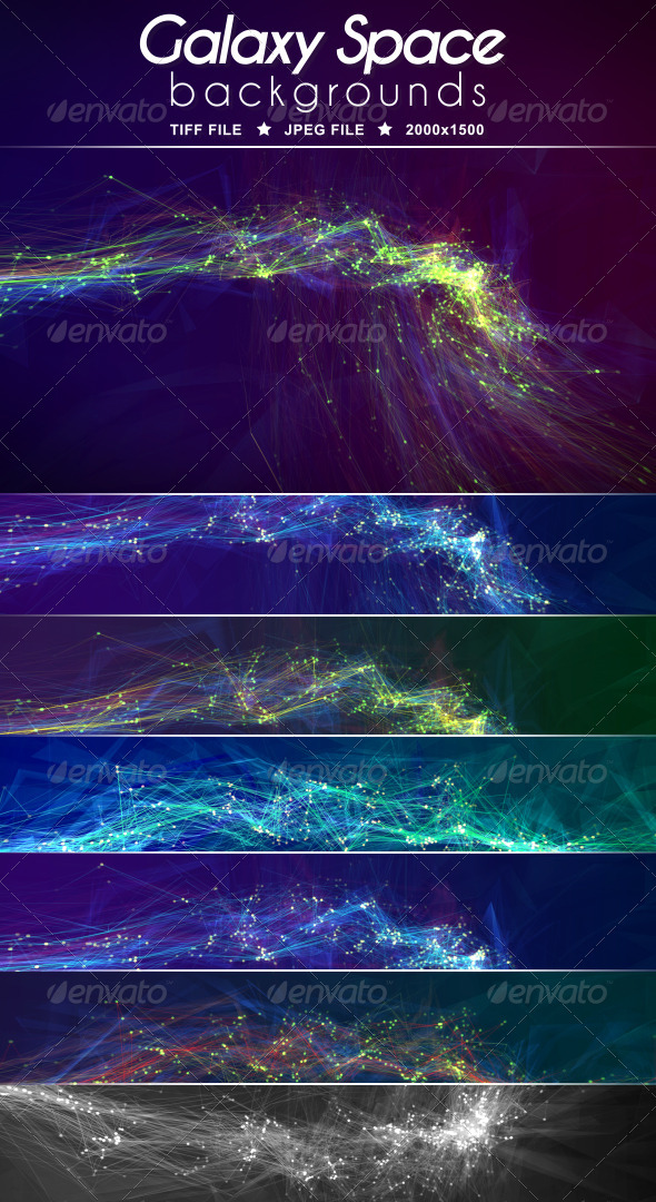 GraphicRiver Galaxy Space Background 6856181