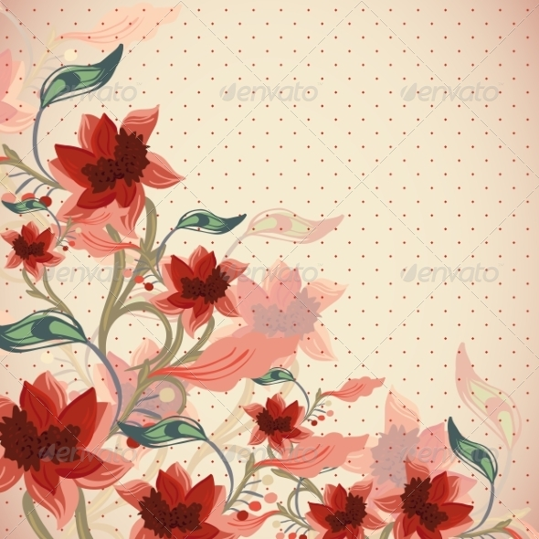GraphicRiver Floral Background 6856768