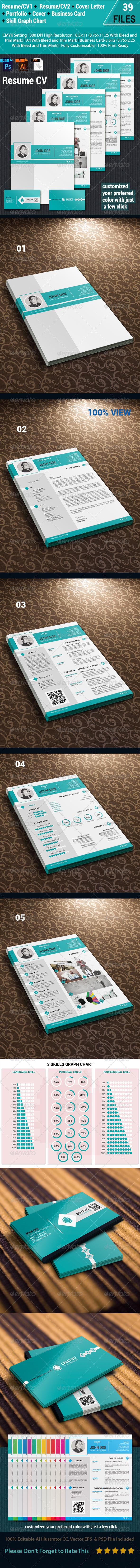 GraphicRiver Resume CV 6840991