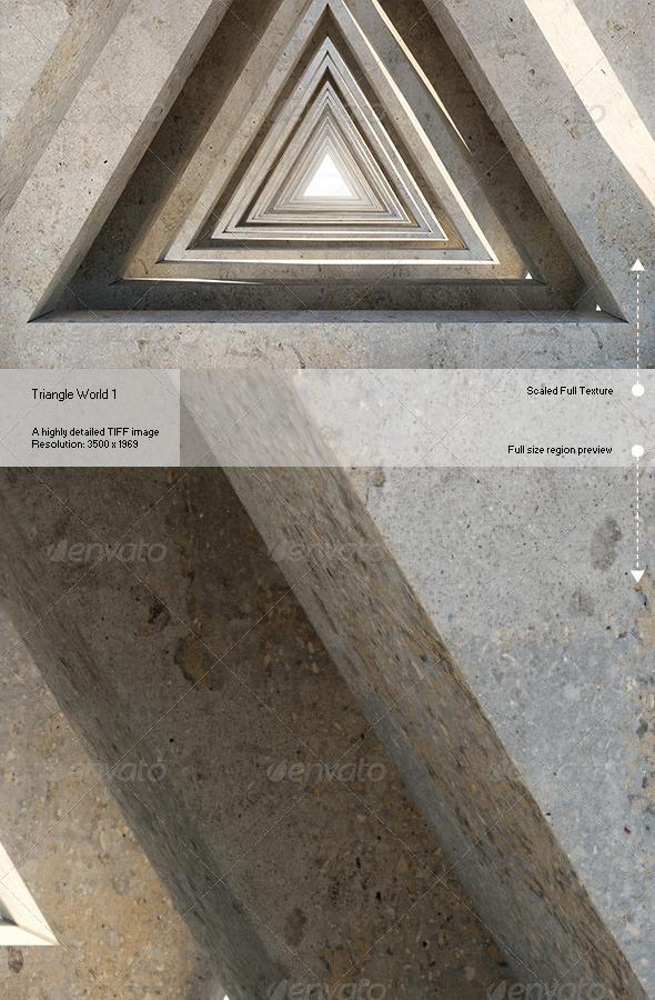 GraphicRiver Triangle World 1 6853934
