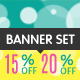 Sale Web Banner Set - GraphicRiver Item for Sale