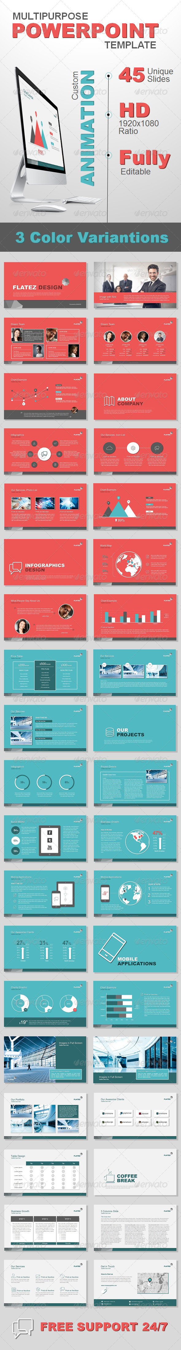 GraphicRiver Multipurpose Business Template 6837062