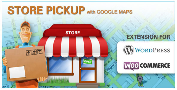 Store Pickup Google Maps - Woocommerce (Wordpress) - CodeCanyon Item for Sale